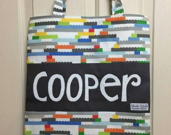 Personalised Library Bag