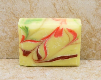 Handmade Soap Scented Soap Gift Soap Bath Soap Tropical Heat Mothers Day Gift