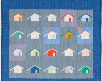 Outhouse Quilt Pattern [1116] : Clair's Fabrics, Fresh and ...   Outhouse Material