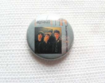 Vintage Early 90s Buzzcocks - Another Music in a Different Kitchen Album - Pin / Button / Badge