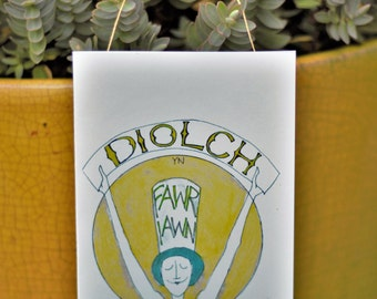 Diolch - Thank You