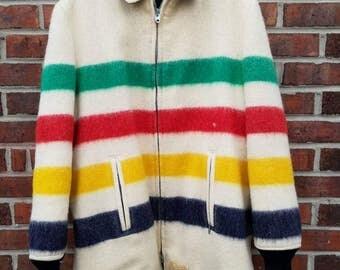 Peerless Hudson Bay reversible jacket RARE!