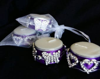 Tealight favours