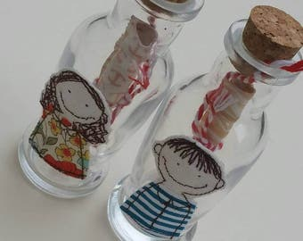 Message in a Bottle by Justsosara. Send a hand written message to a loved one with this enchanting and novel way to send your sentiments.