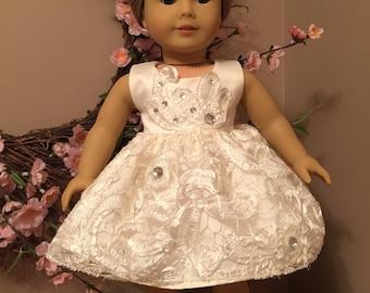 """Ballet recital dress for American Girl or 18"""" doll"""