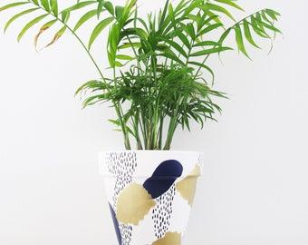 Golden Dream Plant Pot - 15cm