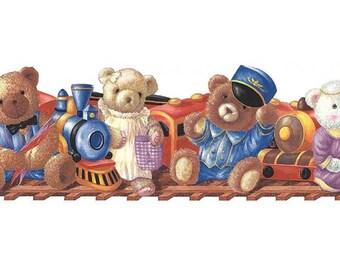 Teddy Bear B74846 Wallpaper Border