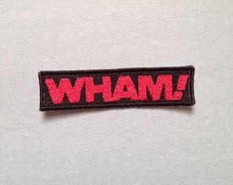 Wham! Iron-on Patch