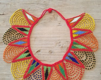 UMGEXO - Zulu beaded collar necklace