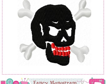 Halloween Skull embroidery,Halloween embroidery,Skull design, Skullcandy,Halloween design.-1743