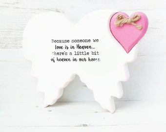 Sympathy gift~condolence gift~ remembrance gift-remembrance keepsake~Loss of loved one-Memorial sign-condolence sign-Heaven sign