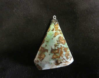 Natural turquoise pendant charm, 40ct
