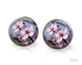 Earrings cherry blossoms 59