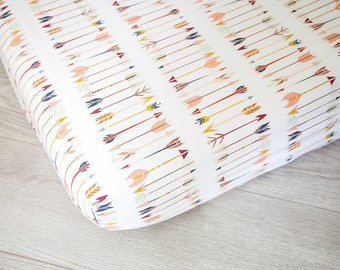 Fitted Crib Sheet | Arrows