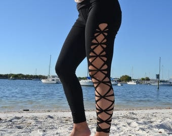 Cross Braided Leggings