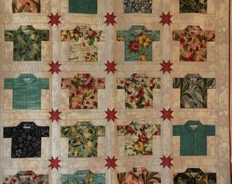Hawaiian Shirt Quilt Pattern ✓ Kamos T Shirt : hawaiian shirt quilt pattern - Adamdwight.com