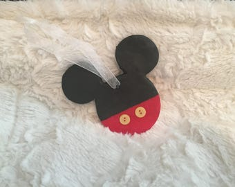 Disney Mickey Mouse ornament hand painted