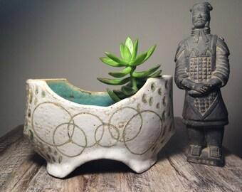 Volcanic Ash Bloom Planter - Minimalist Vase