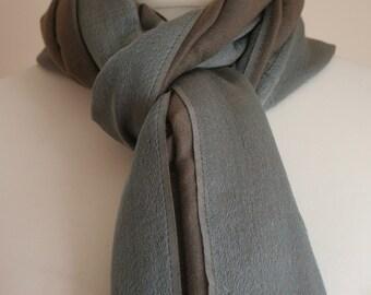 Silk Green Two-tone Pashmina/Giftforher