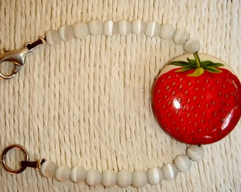 Bracelet STRAWBERRY GOURMET ref: BRA10