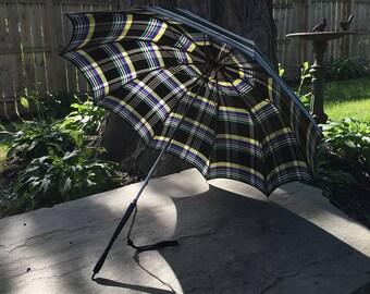 Plaid Umbrella / Parasol