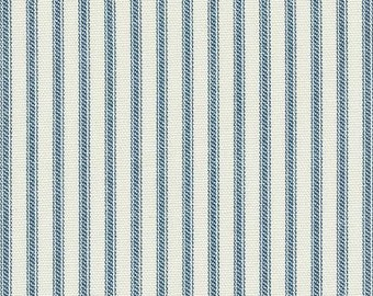 Ticking Nautical, Fabric By The Yard