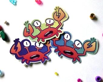 Crabby Sticker