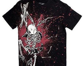 Skull T-shirt gorguts death metal M