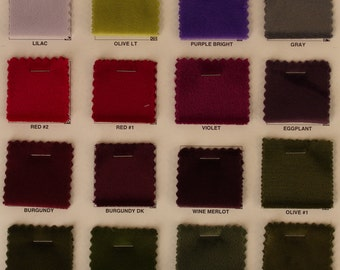 """Steam Polyester Velour Fabric By The Yards""""STVL1E"""""""