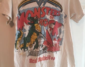Monsters of rock tour shirt