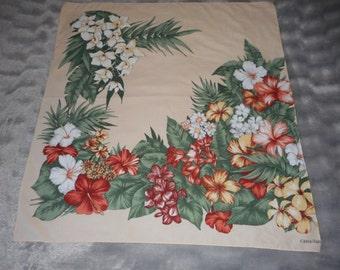 vintage French Castellan head scarf