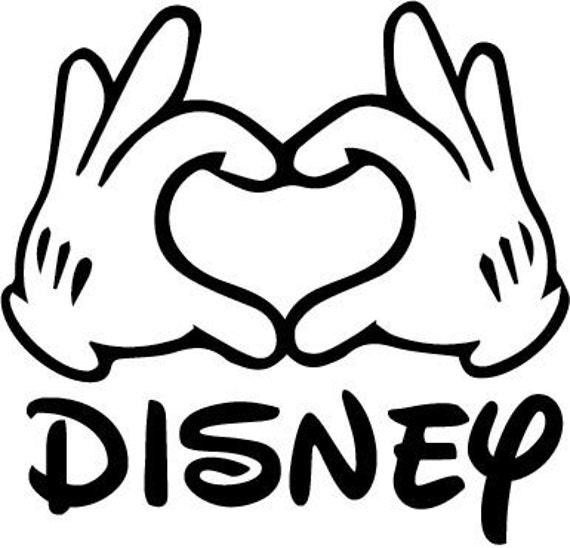 Disney Pin Heart Hands: SVG Disney Mickey Heart Hands Disney Mickey Hands Disney