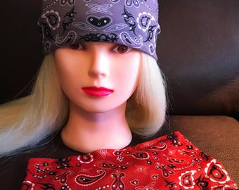 Paisley Bling Stretch Headband