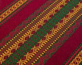 Folk Tribal ukranian tableclothe. Curtain. Decoration fabric.Ukraine ornament.Embrodery.Easter decor Spring Red Tablecloth