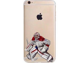 Pricey Hockey Phone Case/ Hockey Phone Case / Fits iPhone 5, iPhone 6, iPhone 7 / Handdrawn iPhone Case by DangleGear Co