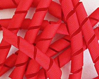 "Korkers Red - 3"" 3/8 ribbon korkers (qty 12 per order)"