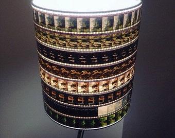 Indiana Jones 35mm Recycled Film Strip Lamp Shade