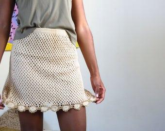 Vintage Knit Skirt