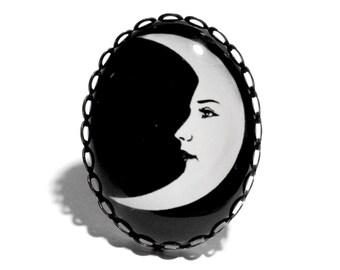 La Luna Large Ring
