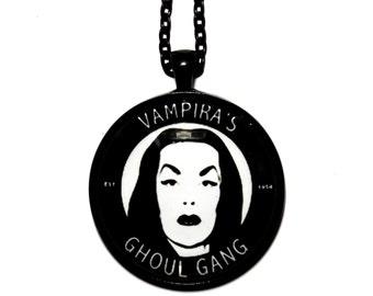 Vampira's ghoul gang pendant