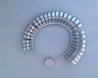 6mm Wide Metal Ring Gauge for Fitting Custom Ring Sizes