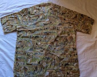 Vintage Kahala Hawaiian shirt