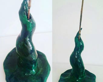 Wizards Hat Incense holder, incense holder, incense burner,  wizard hat, incense holder made to order, wizard home decor, handmade incense