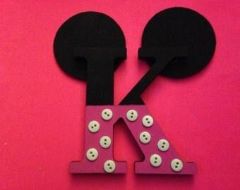 Minnie Mouse Letter K