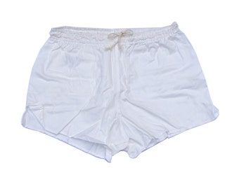 Genuine Ex-Army Shorts NEW white vintage 1980s german military PT hot pants retro sports gym NOS