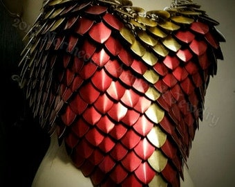 Custom Made  Chain and Scale Mail Wonder Woman Cosplay Armor