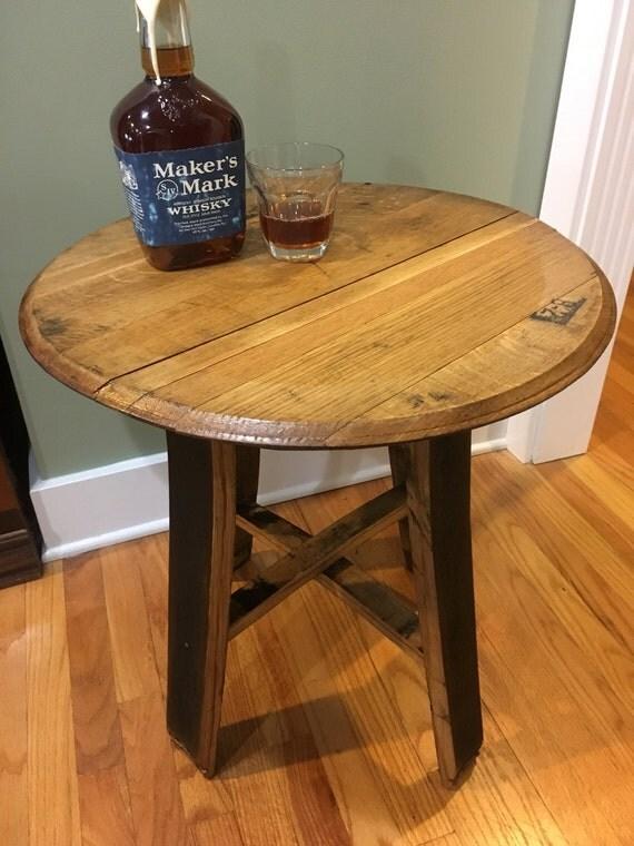 Bourbon Barrel Table barrel head bourbon barrel furniture