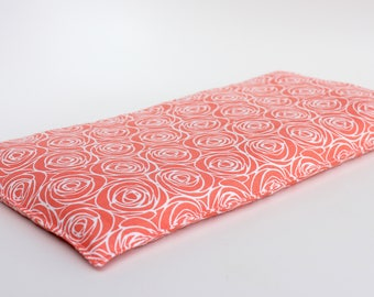 Corn heating bag - Hot and cold pack - Heat therapy bag - Heating pad microwavable - Heating pack - ice pack - large size - coral roses