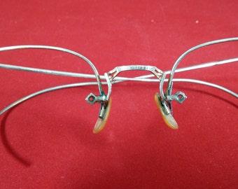 Vintage 12K GF Glasses Frames, Excellent 1930, Ready for Lenses, Antique