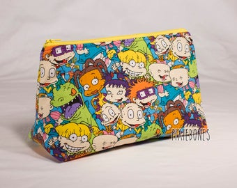 Rugrats Cosmetic Bag - Made to Order!